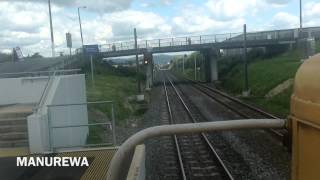 Britomart to Pukekohe - over the hill - Time Lapse