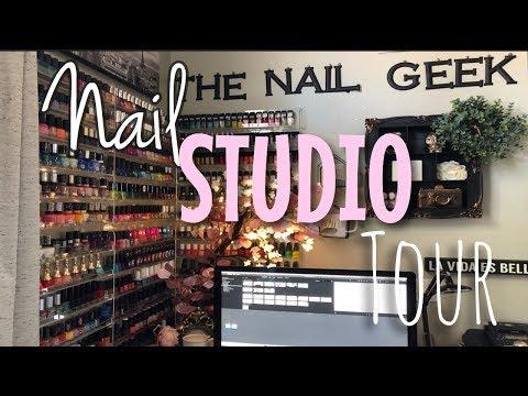 Videos de uñas - MI ESPACIO DE UÑAS/NAIL STUDIO TOUR