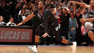 Dwyane Wade's Buzzer Beater Wins It For The Heat! | February 27, 2019
