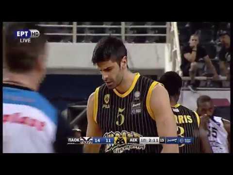 ΠΑΟΚ - ΑΕΚ 78-74 (16/5/2018)  Στιγμιότυπα | Basket League Playoffs Α' Φάση | 1ος αγώνας