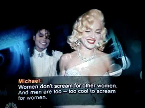 Michael Jackson spoke badly about Madonna