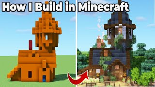 How To Build in Minecraft 1.16 : Pro Building Tips and Tricks