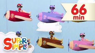 Video 10 Little Airplanes   + More Kids Songs   Super Simple Songs MP3, 3GP, MP4, WEBM, AVI, FLV Oktober 2017