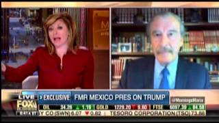 Vicente Fox Stuns FBN Anchor: 'I'm Not Going To Pay For That F*cking Wall'
