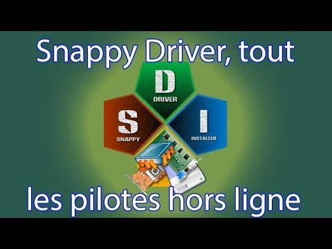Snappy Driver tout les pilotes hors ligne