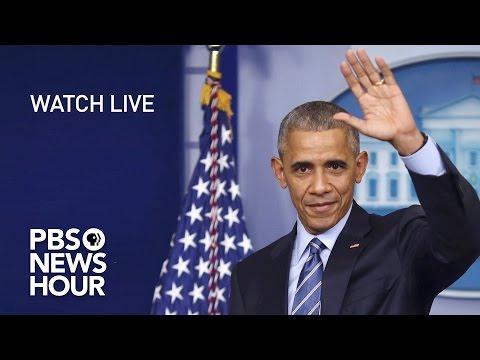 WATCH LIVE: President Obama's Final Press Conference