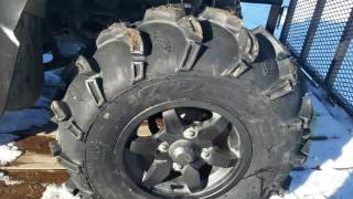 10. ITP Mud Lite XL tires for The Brute Force and short review