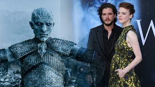The remaining actors appearing in the seventh and penultimate series of 'Game of Thrones' tease the new season at the Los Angeles premiere on Wednesday.