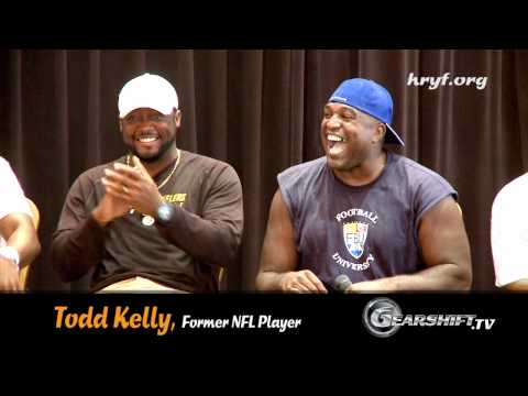 """I want to talk to you about DRUGS"" by Todd Kelly, NFL PLayer"