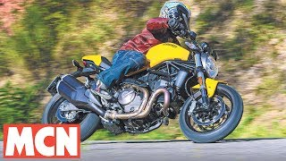 8. Ducati Monster 821 | First Rides | Motorcyclenews.com