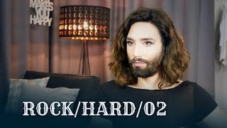 """ROCK/HARD is Conchita's new series of honest interviews, digging deeper into the bearded lady's character, immersing in her world of thought, and bringing up gems that you haven't seen or heard before. The second episode is focusing in on SONGWRITING.You like content like this? Give it a thumbs up and comment. Let us know what you would like us to talk about in one of the next episodes. Disclaimer: Most """"aaahs"""" and """"mmmhs"""" and repetitions are edited out for fluidity; nothing has been changed in the meaning or general flow of the conversation. ––––––––––Interview and video by André Karsai––––––––––#ConchitaRockHard #theunstoppables #conchitawurst #conchymusic––––––––––MY OFFICIAL CHANNELS––––––––––http://www.youtube.com/ConchitaWursthttp://www.facebook.com/ConchitaWursthttp://www.twitter.com/ConchitaWursthttp://www.instagram.com/ConchitaWursthttp://www.conchitawurst.com"""