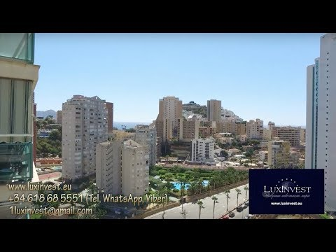 Apartment by the sea in Spain. Benidorm, La Cala, 100m from the sea. PROFITABILITY from 15%!