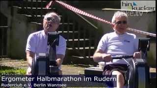 Berliner Ruder Club e.V. ERgometer Halbmarathon Berlin Wannsee