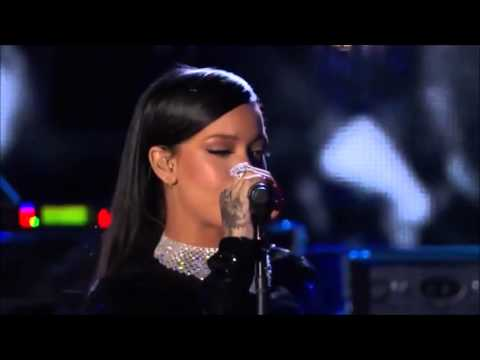 Rihanna - Diamonds Live at The Concert For Valor 2014 (видео)