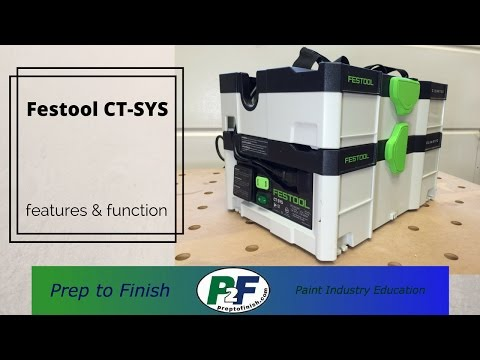 New Technology: Festool CT-SYS Features & FunctionNew Technology: Festool CT-SYS Features & Function<media:title />