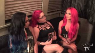 Butcher Babies on Femetal TV