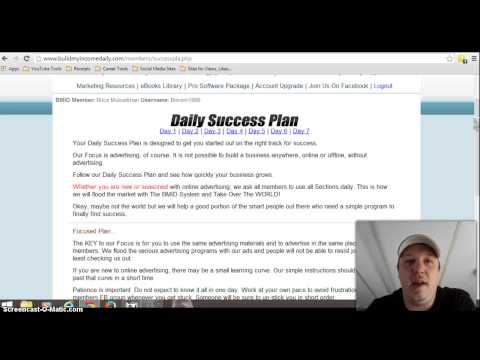 Build My Income Daily Starters Guide | BMID Starters Guide