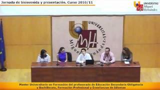 Máster Universitario De Profesorado UMH (1 De 3)