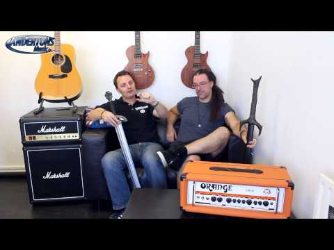 Orange Crush Pro 60w & 120w Amps - Bigger, Louder, Better?