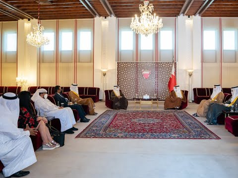 HRH the Crown Prince and Prime Minister meets with the recipients of the 5th edition of The Prime Minister