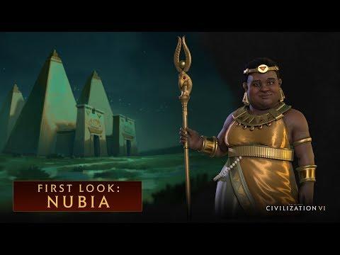 Świetni łucznicy, duże premie do produkcji i ciekawe ulepszenie pola - tak prezentuje się Nubia w grze Sid Meier's Civilization VI