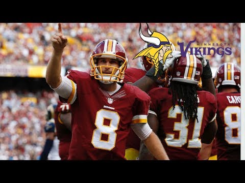 NFL: Kirk Cousins To The Vikings, Sammy Watkins To Chiefs, Allen Robinson A Bear And More!!!