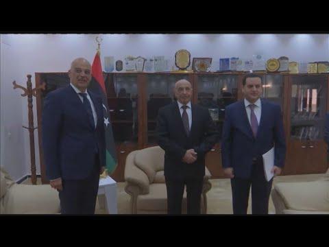 Συμφωνήσαμε με τον Ακίλα Σάλεχ ότι η Τουρκία έχει ιστορικές ευθύνες για αυτό που συμβαίνει στη Λιβύη