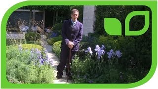 Sabine Reber über den BBC-Gartenstar Monty Don (Chelsea 2014)