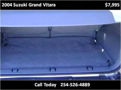 2004 Suzuki Grand Vitara Used Cars Killeen TX