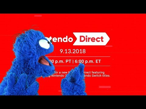 Nintendo Direct 9/13/18 Live Reaction and Commentary