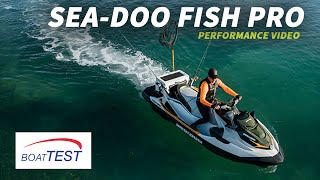 2. Sea-Doo Fish Pro (2019-) Test Video - By BoatTEST.com