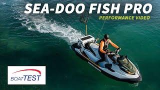 3. Sea-Doo Fish Pro (2019-) Test Video - By BoatTEST.com