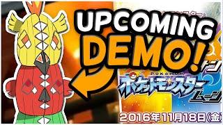 UPCOMING DEMO GAMEPLAY  + RUMORS - Pokémon Sun and Moon by Tyranitar Tube