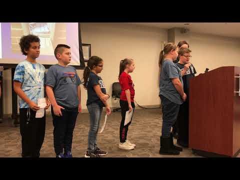Video: Kennedy Elementary Student Ambassadors speak