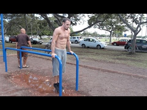Basic Bar Body Weight Workout Calisthenics (10+ Exercises)