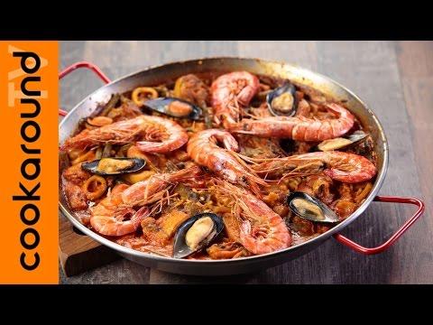 paella valenciana etnica - la video ricetta