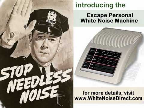 Escape Personal White Noise Machine: Tinnitus Symptoms and Treatment – Hearing Aids