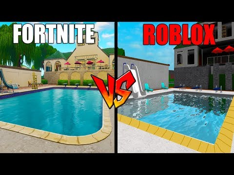 MAKING THE FORTNITE MAP IN ROBLOX BLOXBURG!