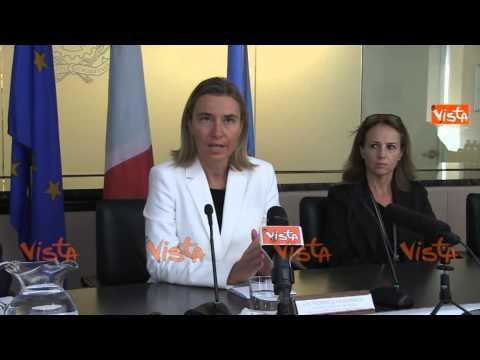NY Mogherini se cambia impegno contro Isis ci sara nuovo passaggio parlamentare