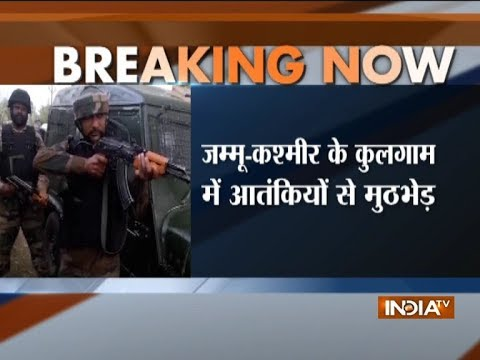 Encounter Underway In Jammu & Kashmir's Kulgam, 2-3 Militants Cornered By Security Forces