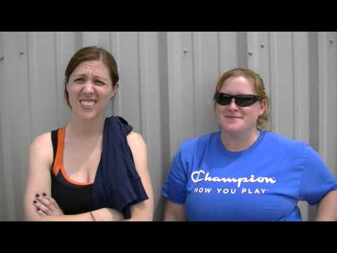 Mandy & Amber PreSkyDive Interview