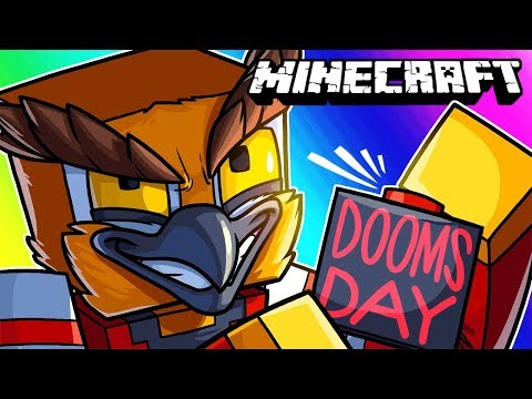 Minecraft Funny Moments - Operation: Doomsday (Blowing up the Entire Server)