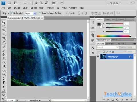 Как создать свою радугу в фотошопе