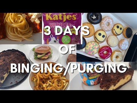 3 days of binging/purging {TW}