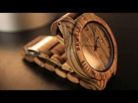 Orologio completamente in legno homemade