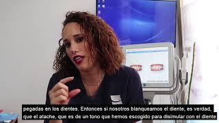 Dra. Victoria Moreno – Blanqueamiento con Invisalign