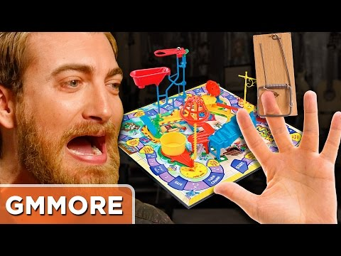Playing Mouse Trap with REAL MOUSETRAPS