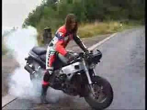 Porrazos con la moto