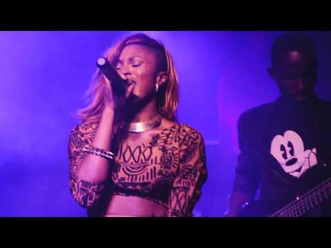 Female Rapper Eva Alordiah Performing SHOTS ON SHOTS / EVA SAYS 14