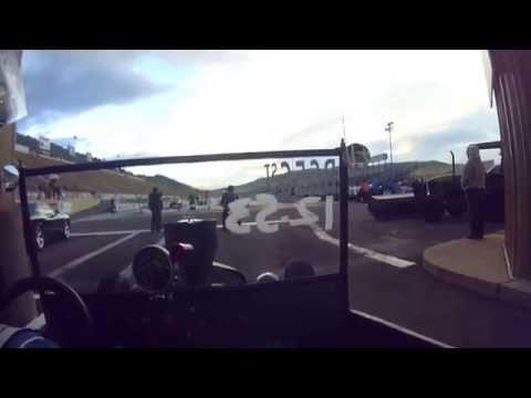 T-bucket race Bandimere Speedway
